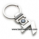 custom design bmw 7 metal keychain