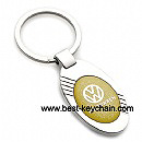 metal ellipse volkswagen auto vw car keychain