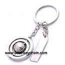 promotion metal football key chain