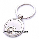 promotion metal key chain with golf logo