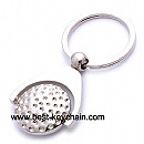 golf key chain metal material spinner gift