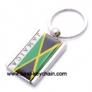 metal photo frame key chain