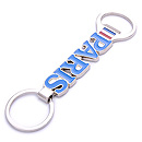 bottle opener keychain souvenir paris