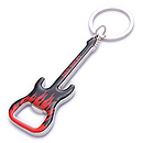 souvenir bottle opener guitar keychain